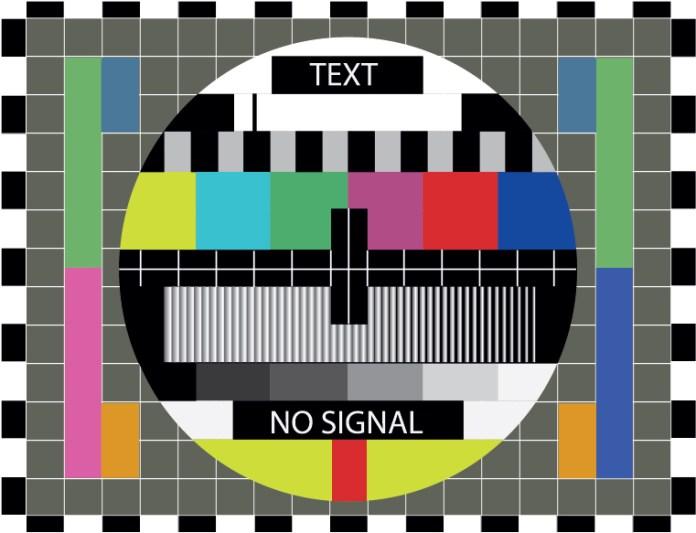 no signal tv televizio