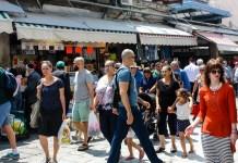 piac emberek izraeli tomeg