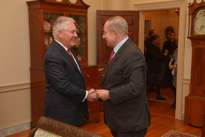 Tillerson Netanjahu találkozó - fotó: USA külügyminisztérium / Flickr