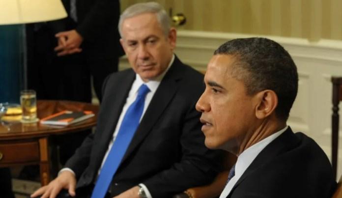 Netanjahu és Obama a Fehér Házban, 2012. március - fotó: Amos Ben Gershom / GPO