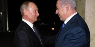 Benjamin Netanjahu és Vlagyimir Putyin Szocsiban - fotó: Amos Ben Gershom / GPO