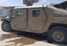 Izraeli hadsereg páncélozott járműje