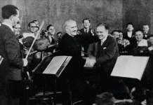A Palesztinai Szimfonikus Zenekar (1948-tól Izraeli Szimfonikus Zenekar)