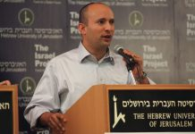 Naftali Bennett - fotó: Mati Milstein / The Israel Project / Flickr