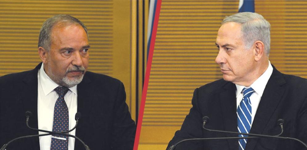 Benjamin Netanjahu és Avigdor Liberman - fotó: Haim Zach / GPO
