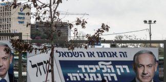 Netanjahu választási plakátja - fotó: Kobi Gideon / GPO