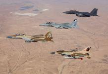 Izraeli vadászgépek - fotó: IAF