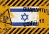 koronavírus Izrael zászló