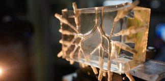 """A Technionon kifejlesztett rekonstruált felső légúti """"tüdő""""-modell - fotó: Technion"""