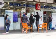 sorbánállás bolt koronavírus super-pharm