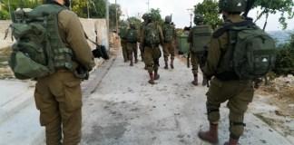 Izraeli katonák Beit Kahil palesztin faluban, Ciszjordániában, 2019 - fotó: Izraeli Hadsereg