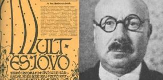 A Múlt és Jövő folyóirat 1937 márciusi száma, és Patai József