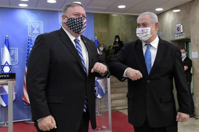 Netanjahu és Pompeo Jeruzsálemben - fotó: Kobi Gideon / GPO