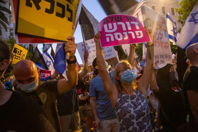 Tüntetés a Balfour utcánál - fotó: frankpeti