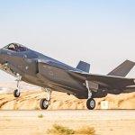 """F-35-ös """"Adir"""" vadászgép – fotó: Izraeli Védelmi Erők"""