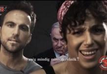 benjamin netanjahu elleni kampanyfilm
