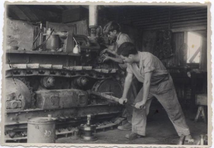 Beit Kama az ötvenes években