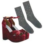 Sokne i sandale Jeffery Campbell