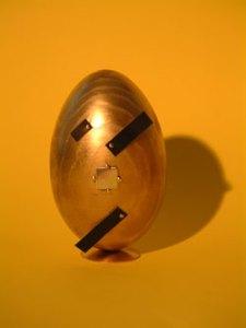 Duhovno slavlje Uskrsa: Suprematističko-jaje-na-kvadrat, slika