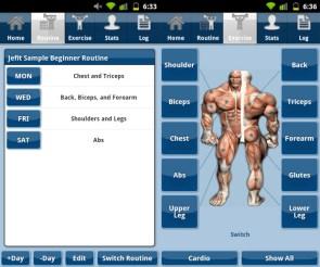 Jefit aplikacija