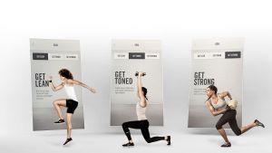 Nike Treining aplikacija