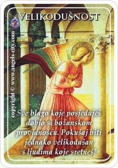 Foto: Angels centar Zagreb. Velikodušnost - Sve blago koje posjeduješ dobio si božanskom providnošću.