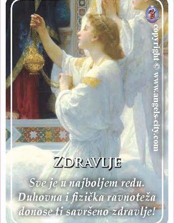 Poruke Anđela: Sve je u najboljem redu. Duhovna i fizička ravnoteža donose ti savršeno zdravlje!