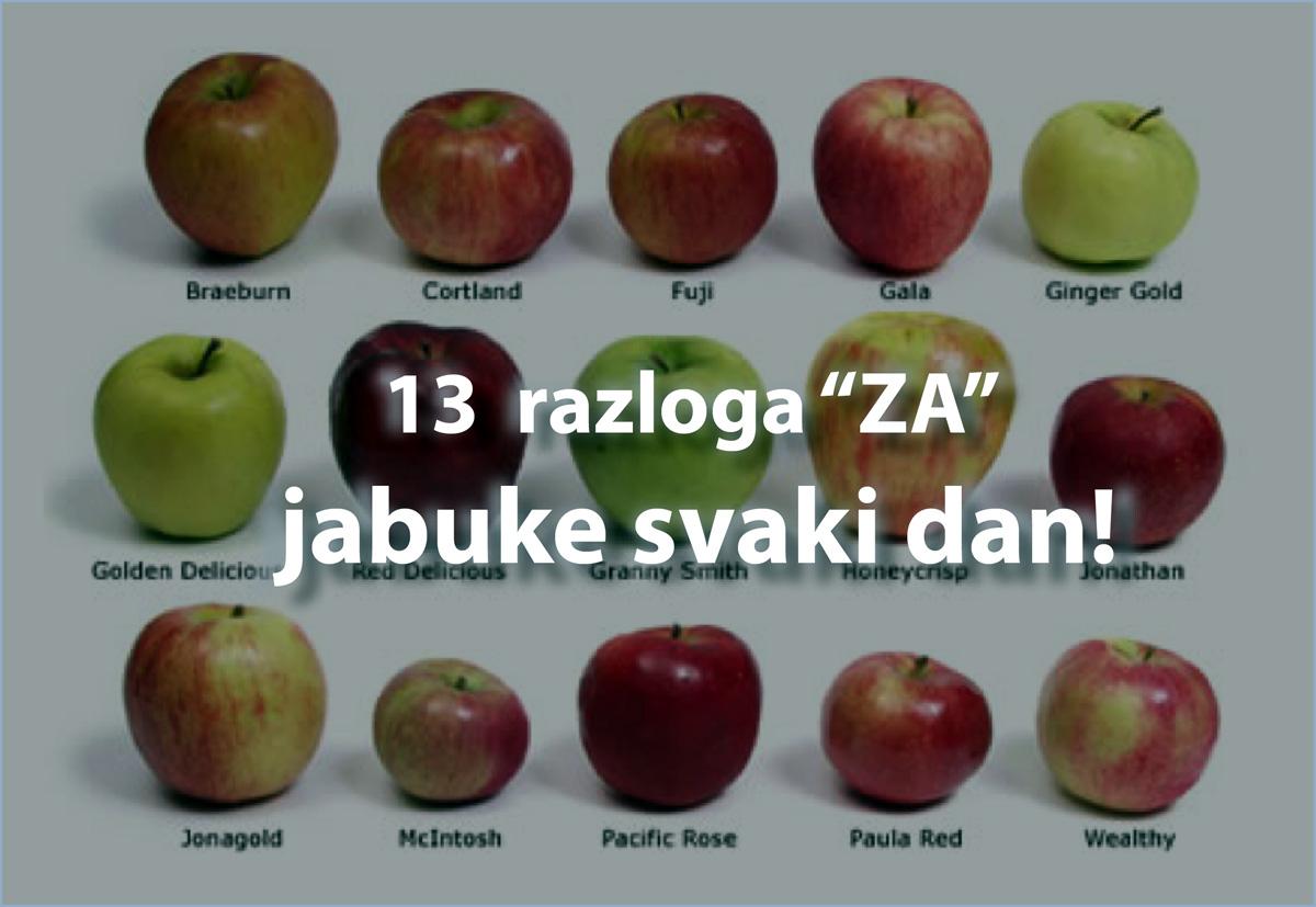 13 razloga ZA kraljicu voća: jabuku!
