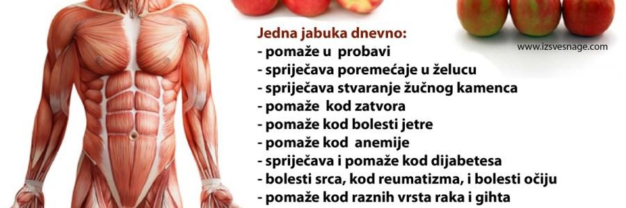 Jabuka – pomoć kod probave, dijabetesa, bolesti srca, gihta…