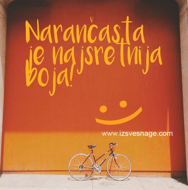Psihologija narančaste boje i značenje, narančasta