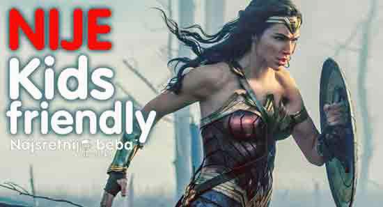 Filmska recenzija: Wonder Woman, igrani akcijski, 141 min