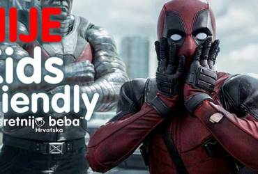 NIJE KIDS FRIENDLY: DEADPOOL 2, akcijska komedija, 119 min