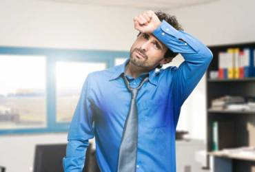 Efikasna terapija kod pojačanog ili prekomjernog znojenja (hiperhidroze) uzrokovanom anksioznosti i emocionalnim problemima, prekomjerno znojenje