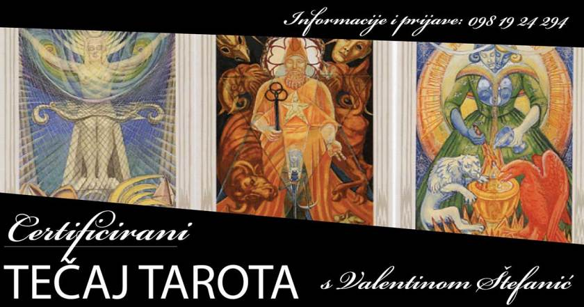 Tarot certificirani tecaj, tecaj tarota , Valentina Štefanić, Tarot certificirani tecaj s Valentinom Štefanić