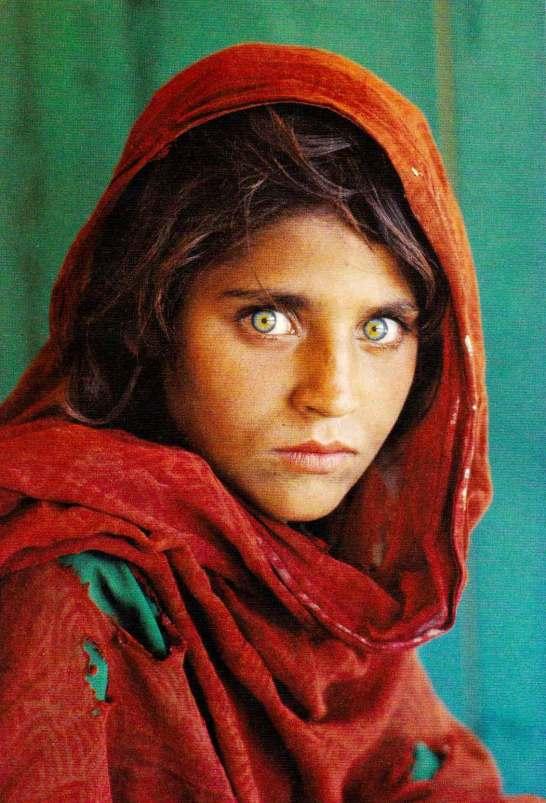 アフガンの少女