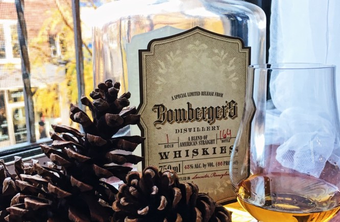 Bottle of Bomberger's Whiskey