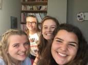 Me, Caroline, Shelbie and Kayli