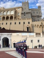 The royal palace and the guards