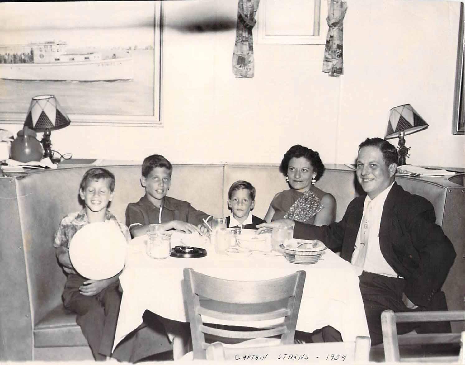 capt starns 1954