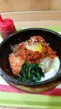 Went for 'comfort food' for lunch aka bibimbap :P