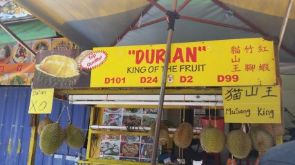 My frenemy, the durian