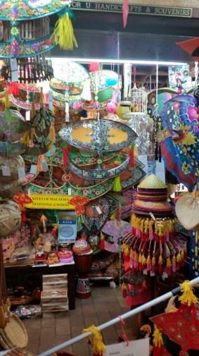 Central market - traditional kites