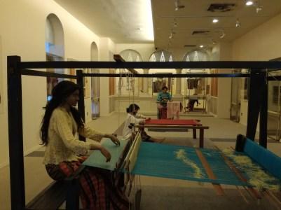 Textile museum..a bit creepy really