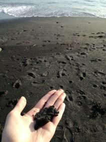Black Sand beach! Shichirigahama