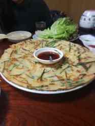 Okonomiyaki - aka japanese pizza, sorta