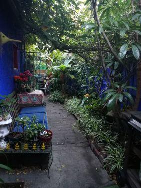 The garden hallway to my room