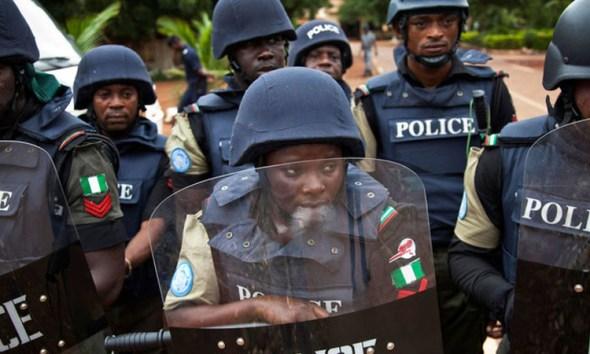 #ENDSARS illustaration of Police working