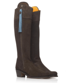 Fairfax and Favor Regina low heel boots
