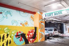 Left Bank Mural by Ruth Robertson Taylor and Rachel Gallaway (2015)