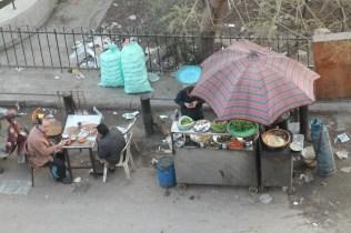 foul and egg street seller